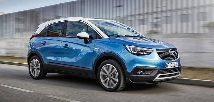 Opel Crossland X z LPG