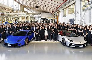 Podwójny jubileusz Lamborghini
