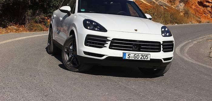 Nowe Porsche Cayenne na Krecie
