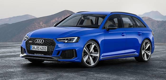 Audi RS4 Avant. Cena