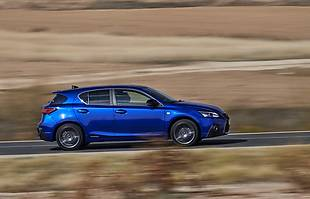 Lexus CT 200h po liftingu