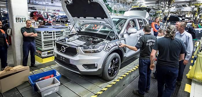 Ruszyła produkcja Volvo XC40