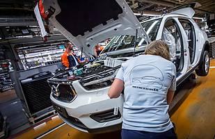 Volvo XC40 - produkcja