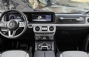 Mercedes G z nowym wnętrzem