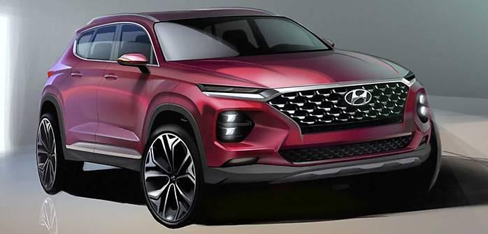 Taki będzie nowy Hyundai Santa Fe