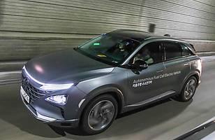 Autonomiczny Hyundai NEXO