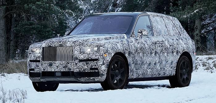 Rolls-Royce Cullinan. Pierwszy SUV!