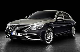 Mercedes-Maybach S po liftingu