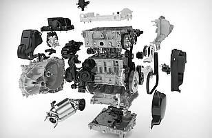 Trzycylindrowy silnik benzynowy Drive-E