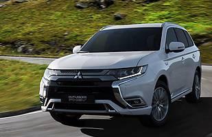 Mitsubishi Oulander PHEV po zmianach