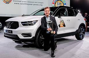 Volvo XC40 z tytułem Car of the Year 2018