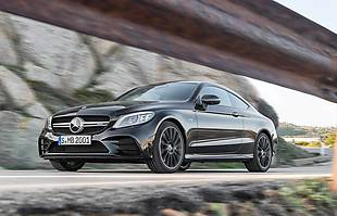 Mercedes C Coupe i Cabrio po liftingu