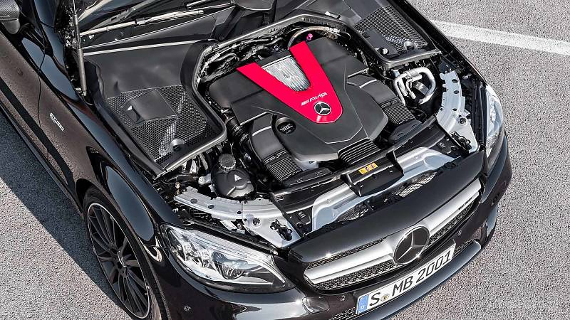 Mercedes C Coupe i Cabrio po liftingu