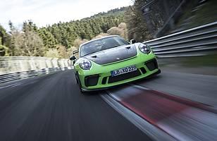 Porsche 911 GT3 RS na Nurburgringu