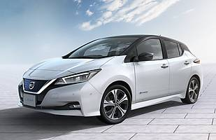 Nissan Leaf rozbity. Jaki wynik?