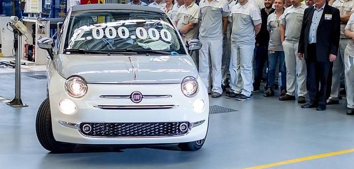 Dwa miliony Fiatów 500 z Tychów