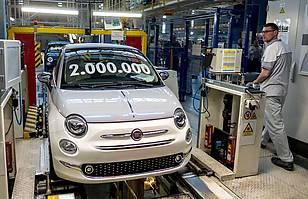 Fiat 500 nr 2 mln