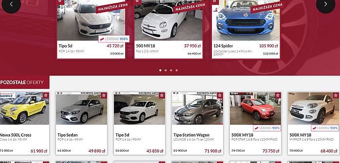 Ciekawe promocja Fiata, Alfy Romeo i Jeepa