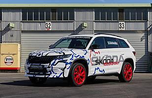 Skoda Kodiaq RS z rekordem Nurburgringu