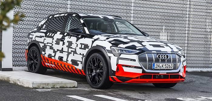 Audi e-tron. Pierwszy model z kamerami zamiast lusterek