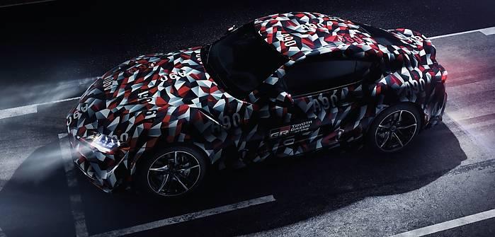 Toyota Supra w Goodwood