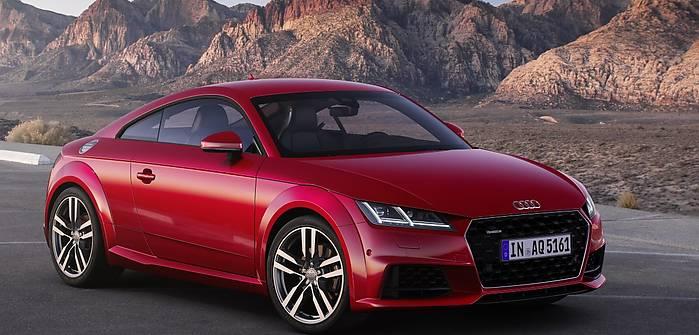 Audi TT po modernizacji