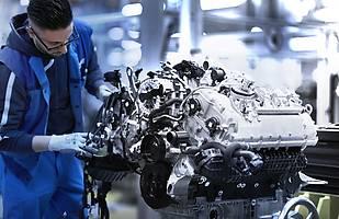 Silnik V8 w BMW serii 8