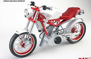 Projekt nowego motocykla marki WSK