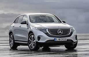 Mercedes EQC. Pierwszy elektryczny!