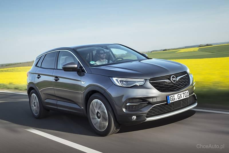 Opel Grandland X z nowym silnikiem