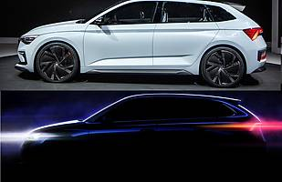 Skoda Vision RS i nowy model produkcyjny