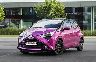 Toyota Aygo bestsellerem