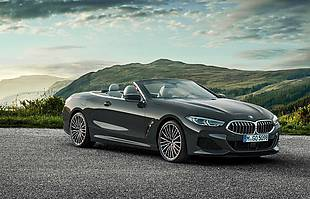 BMW 8 convertible
