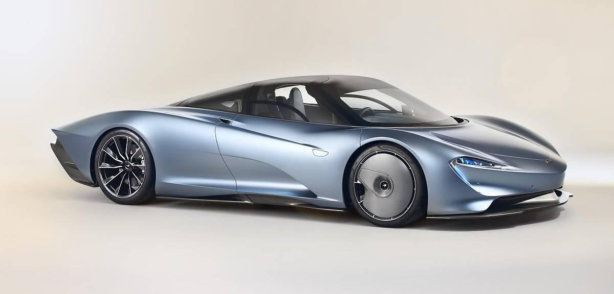 Limitowany McLaren Speedtail