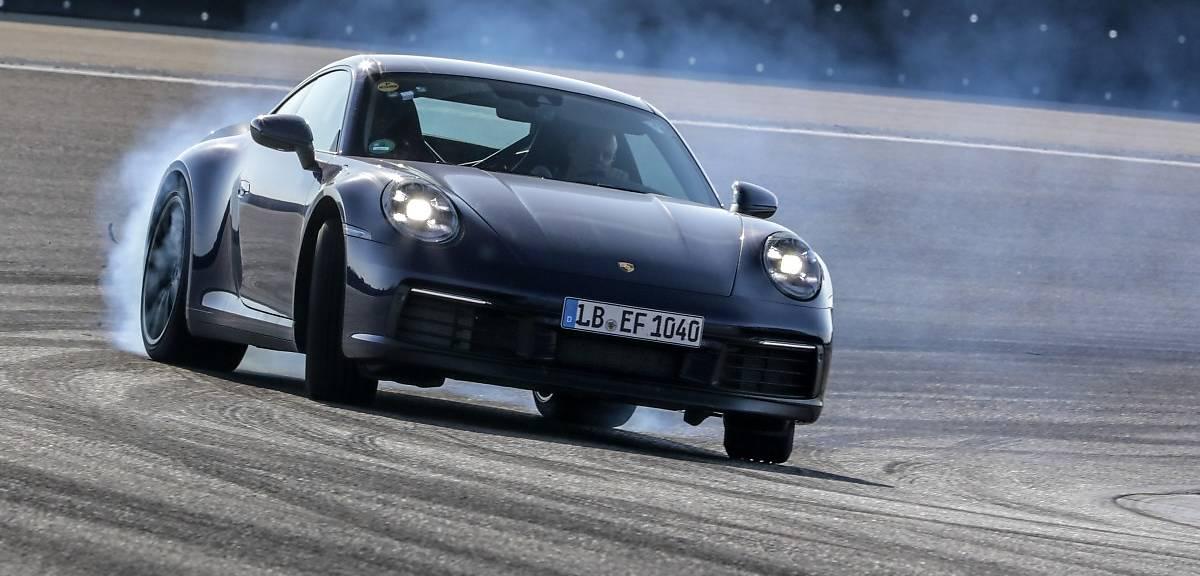 Nowe Porsche 911 niemal w pełnej krasie