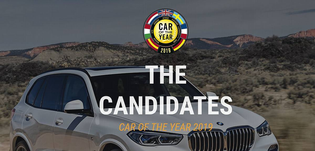 Europejski Samochód Roku. Kandydaci!
