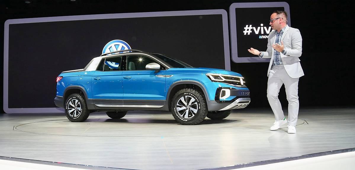 Volkswagen Tarok. Mniejszy brat Amaroka