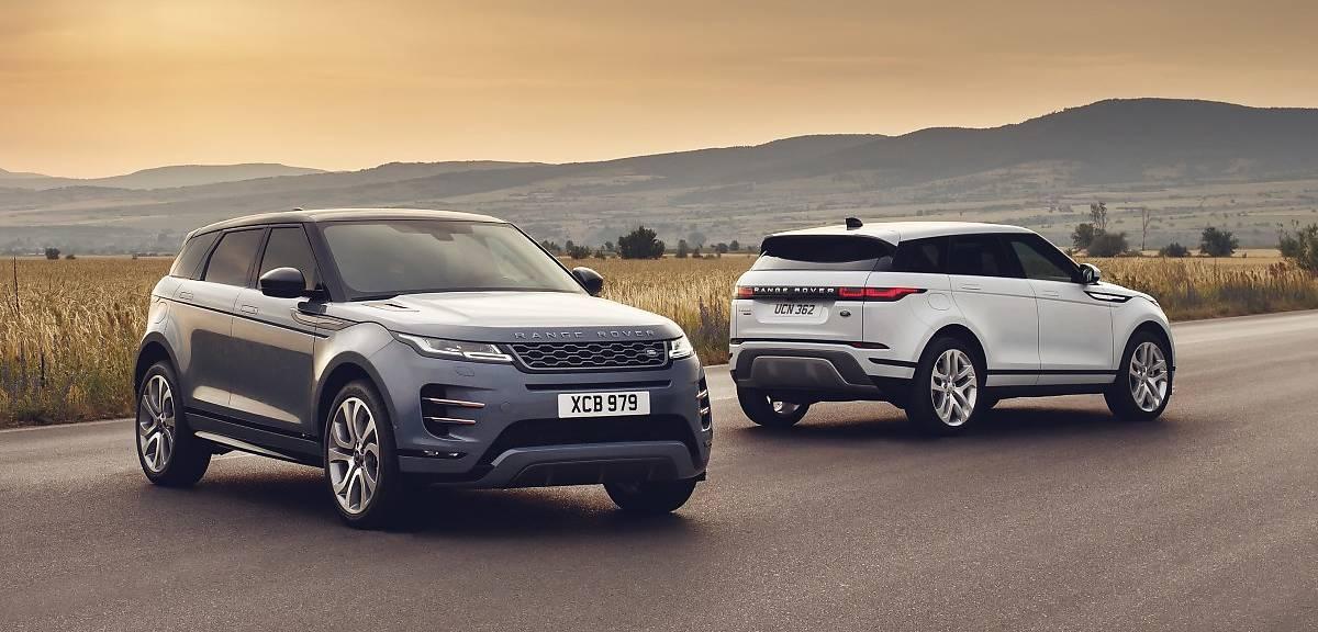 Range Rover Evoque drugiej generacji