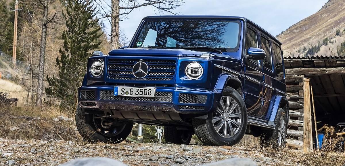Mercedes klasy G z dieslem