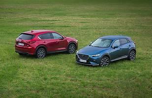 Mazda CX-5 i Mazda CX-3