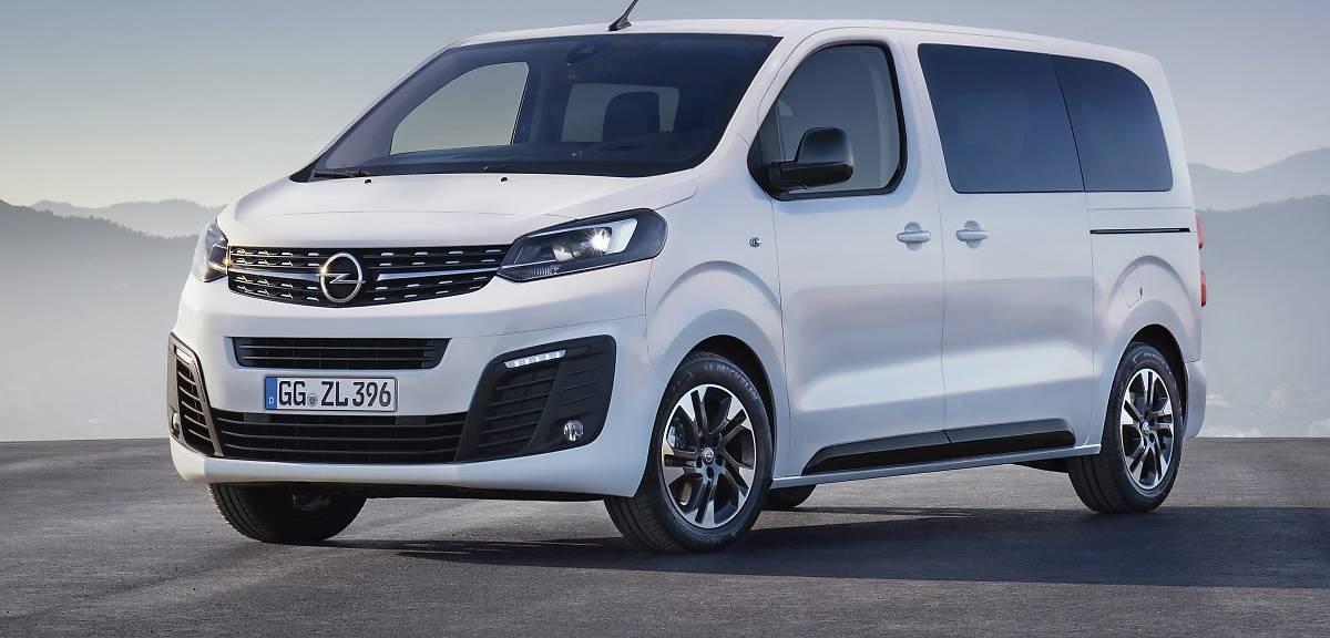 Nowy Opel Zafira jak auto dostawcze!