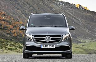Mercedes klasy V po liftingu