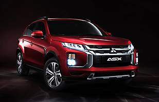 Mitsubishi ASX po modernizacji