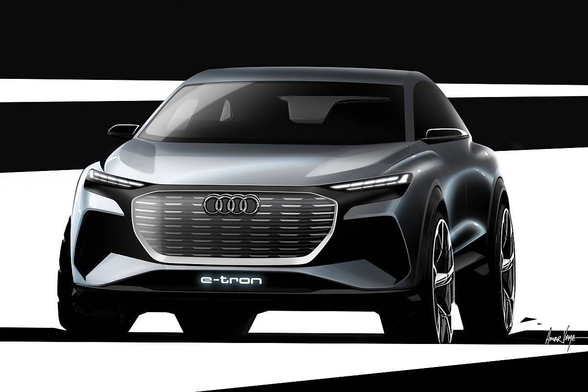 Audi Q4 E-tron Concept. Elektryczne!