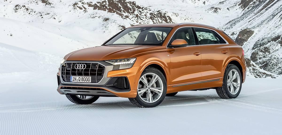 Audi Q8 z nowymi silnikami
