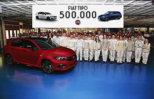Pół miliona egzemplarzy Fiata Tipo