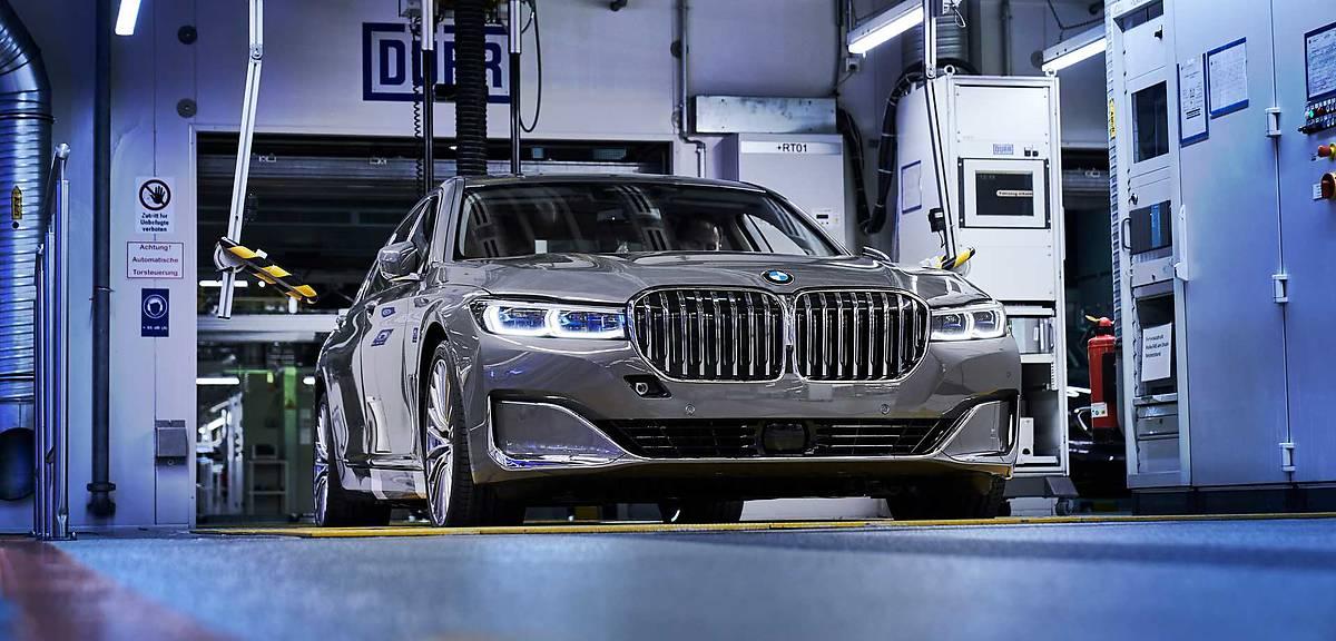 Ruszyła produkcja odświeżonego BMW 7