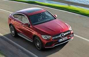 Mercedes GLC Coupe po liftingu