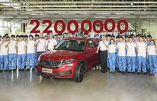 Skoda wyprodukowała 22 mln samochodów