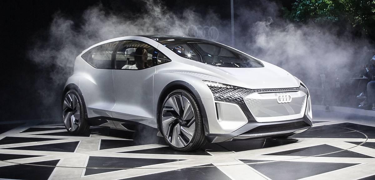 Audi AI:ME. Miejskie auto na prąd